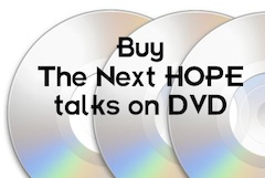 Buy The Next HOPE talks on DVD